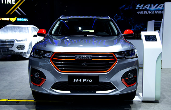 全新H6铂金版上市 H4 Pro开启预售 哈弗SUV震撼亮相成都车展