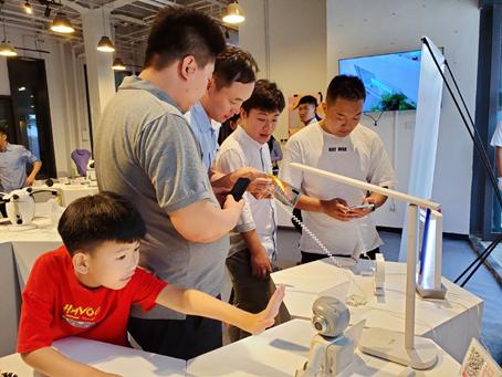 相约石榴设计节 感受三星×苏宁带来的未来科技